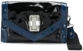 Sonia Rykiel Sonia By engraved logo clasp clutch