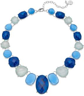 Dana Buchman Blue & White Inlay Necklace