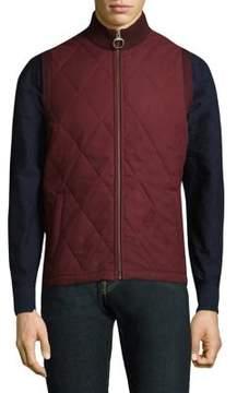 Barbour Barra Gilet Diamond Stitch Vest