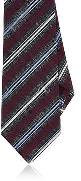 Kiton Men's Striped Wool-Blend Necktie