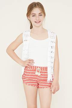 Forever 21 Girls Abstract Shorts (Kids)