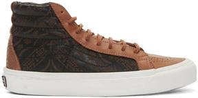 Vans Brown Taka Hayashi Edition OG SK8-HI LX Sneakers