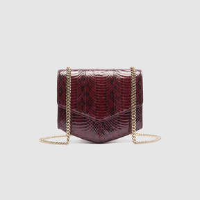 Sandro Python-effect Lou bag, small model