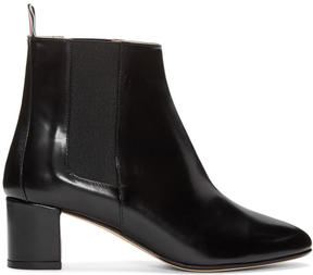 Thom Browne Black Chelsea Boots