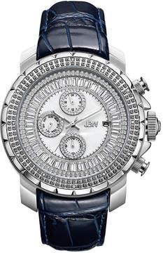 JBW Diamond Mens Blue Strap Watch-J6347l-E
