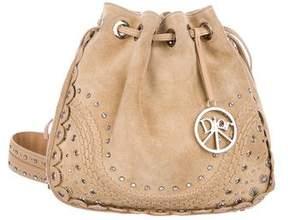 Christian Dior Hippie Suede Crossbody Bag