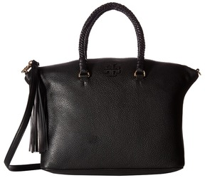 Tory Burch Taylor Satchel Satchel Handbags - BLACK - STYLE