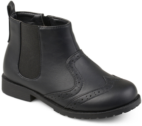 Journee Collection Black Lennon Ankle Boot
