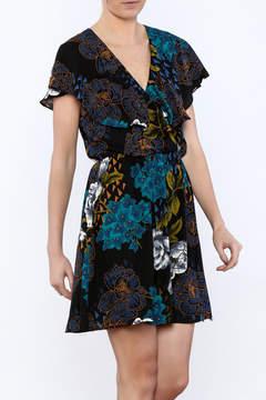 Everly Black Bloom Dress