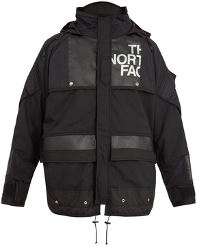 Junya Watanabe X The North Face contrast-panel parka