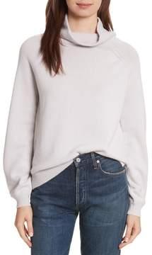 Allude Women's Balloon Sleeve Cashmere Turtleneck Sweater