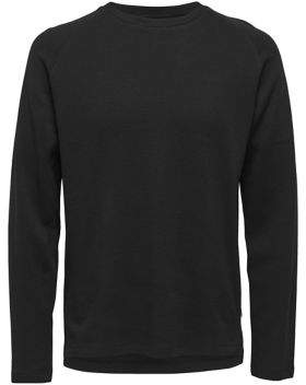 ONLY & SONS Waffle-Knit Sweater