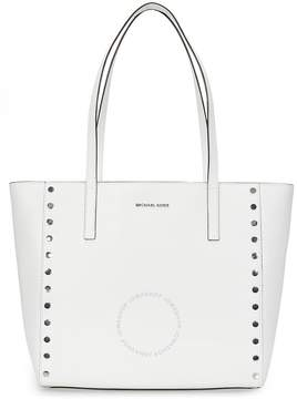 Michael Kors Rivington Large Studded Tote - Optic White - ONE COLOR - STYLE