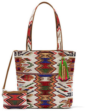 Eva Mendes Collection - Embroidered Tote Bag