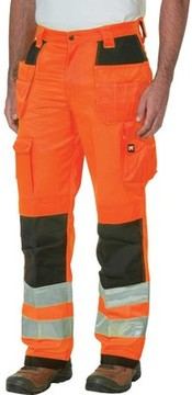 Caterpillar HI VIS Trademark Trouser - 32 Inseam (Men's)