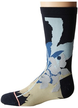 Stance Cuban Flower Women's Crew Cut Socks Shoes
