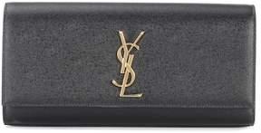 Saint Laurent Kate leather clutch
