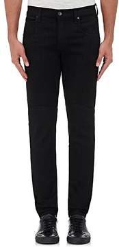 Rag & Bone Men's Coated Slim Moto Jeans