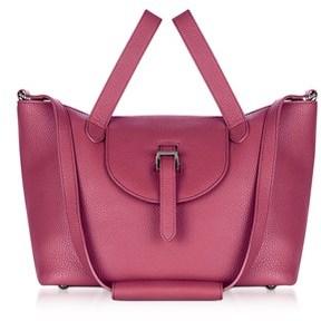 Meli-Melo Women's Purple Leather Tote.