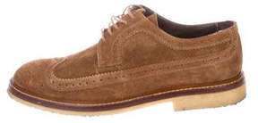 To Boot Suede Wingtip Brogues
