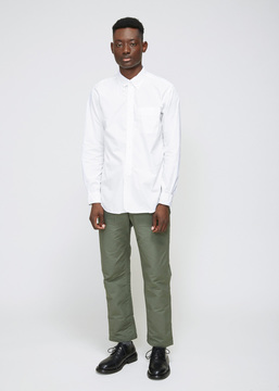 Engineered Garments White 19th Century Broadcloth Button-down Shirt