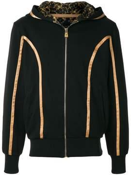 Billionaire paneled hoodie