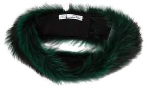 Oscar de la Renta Fur Collar w/ Tags