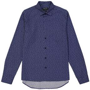Commune De Paris Vuillard Foxy Print Button Down Shirt