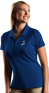 Antigua Women's Kansas City Royals Xtra-Lite Desert-Dry Pique Performance Polo