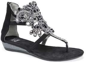 Muk Luks Athena Embellished Sandal