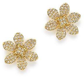 Bloomingdale's Diamond Flower Stud Earrings in 14K Yellow Gold, 0.50 ct. t.w. - 100% Exclusive