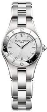 Baume & Mercier Linea 10009 Interchangeable Stainless Steel Bracelet Watch