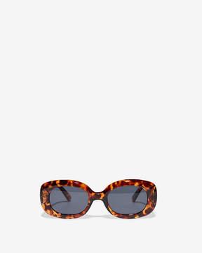 Express Tortoiseshell Small Square Sunglasses