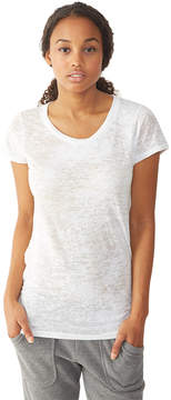 Alternative Apparel Perfect Fit Burnout Crew T-Shirt