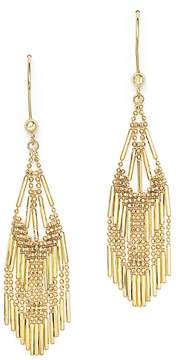 Bloomingdale's 14K Yellow Gold Beaded Dangle Earrings - 100% Exclusive