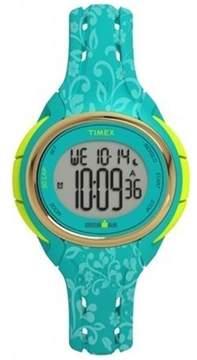 Timex Women's Ironman Sleek TW5M03100 Blue Resin Quartz Sport Watch
