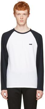 Ami Alexandre Mattiussi Navy Baseball T-Shirt