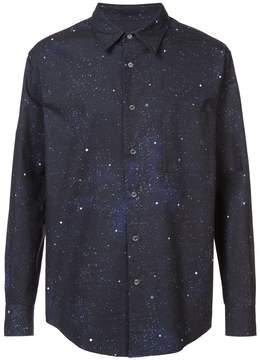 Off-White galaxy print shirt
