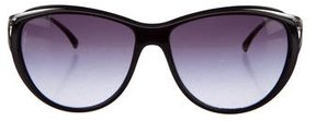 Chanel Tinted Cat-Eye Sunglasses