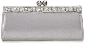 Kate Landry Pouch Frame Top Kiss Lock Clutch
