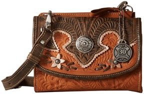 American West - Desert Wildflower Crossbody Bag/Wallet Cross Body Handbags