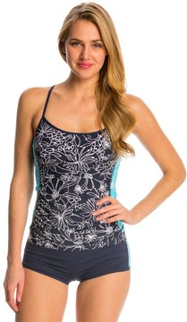 Anne Cole Women's Spinning Floral Tankini Top 8137393