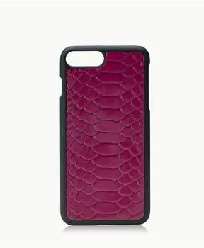 GiGi New York Iphone 7 Plus HardShell Case In Mulberry Embossed Python
