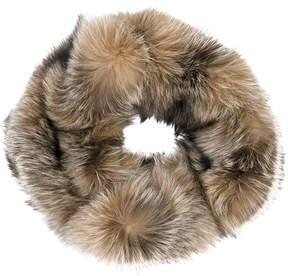 Eleventy fox fur snood