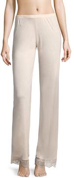 Eberjey Women's Estelle Lace Cuff Pants
