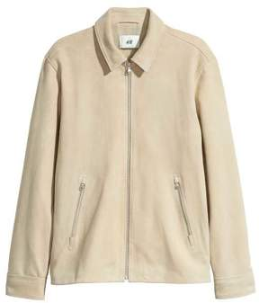 H&M Suede Shirt Jacket