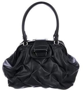 Smythson Leather Shoulder Bag
