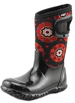 Bogs Kaleidoscope Round Toe Canvas Rain Boot.