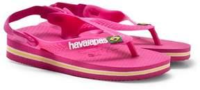 Havaianas Pink Baby Brasil Sandals