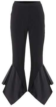 Edit Cropped crêpe trousers